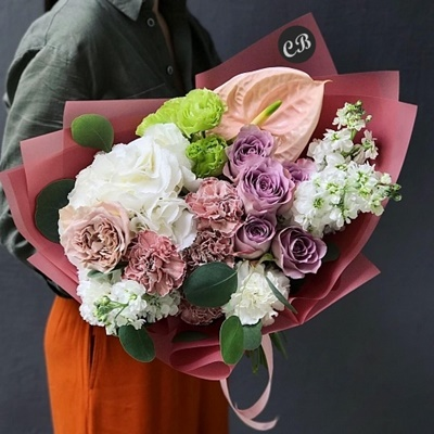 Flower bouquet for Istanbul